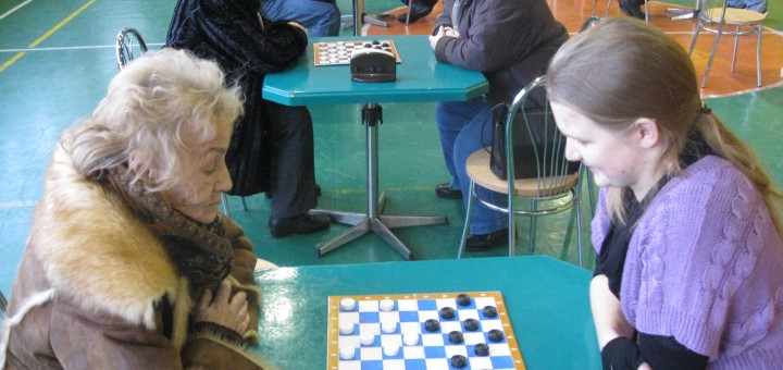 Kalėdinis šaškių turnyras Dusetose